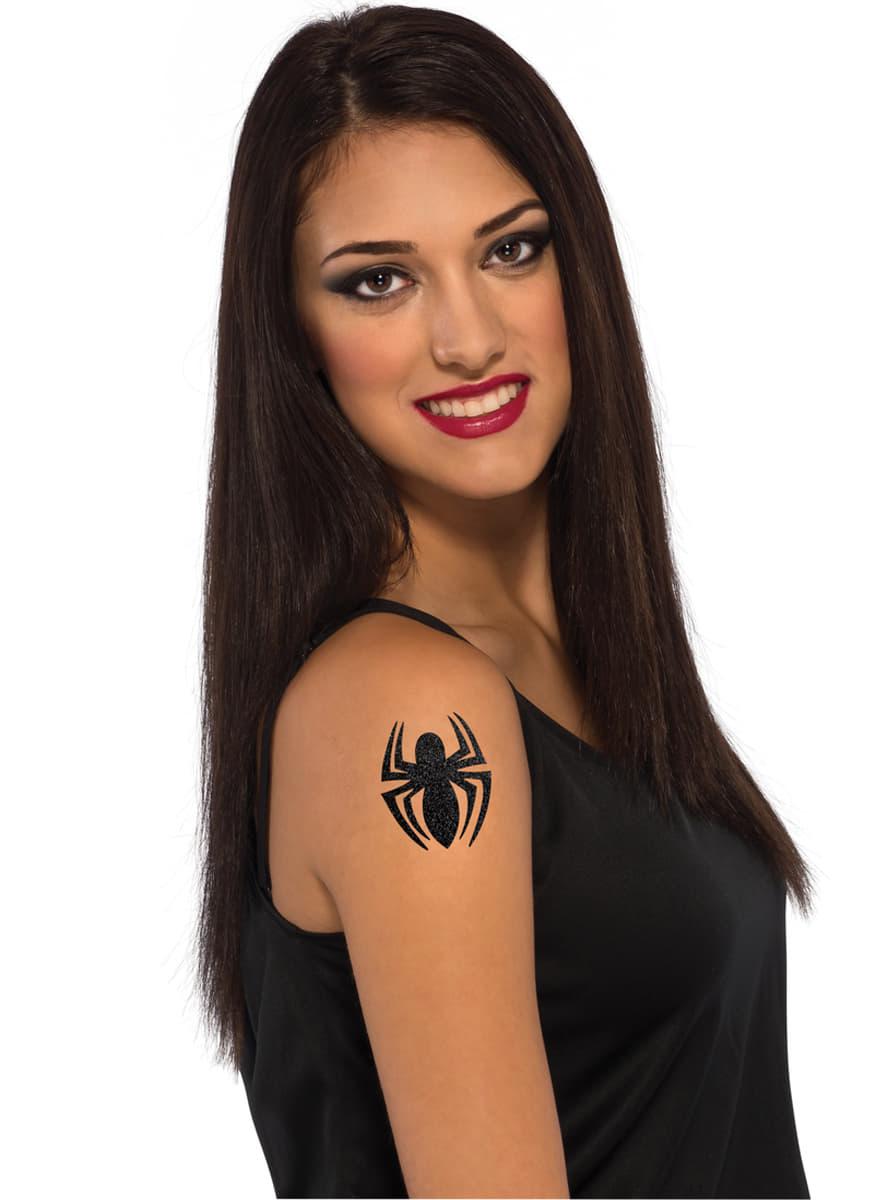 spider girl tattoo f r m dchen marvel f r kost m funidelia. Black Bedroom Furniture Sets. Home Design Ideas