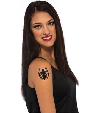 Tatuagem Spidergirl Marvel para menina