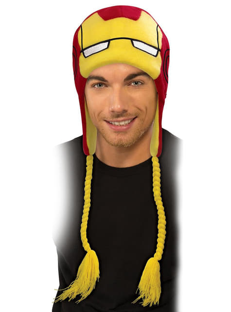Marvel Iron Man beanie hat for a man