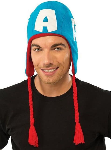 Chapeau Captain America Marvel adulte
