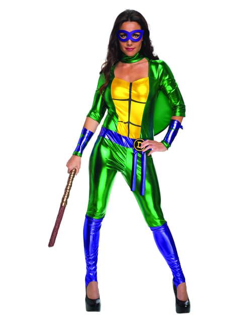 Ninja Turtles Donatello Sexig klänning Maskeradklänning Vuxen
