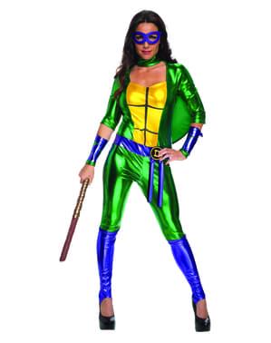 レディースセクシーなDonatello Teenage Mutant Ninja Turtlesコスチューム