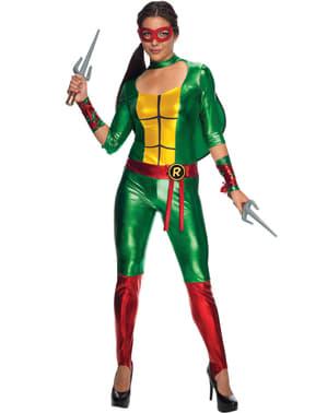 Kostium Raphael sexy Wojownicze Zólwie Ninja damski