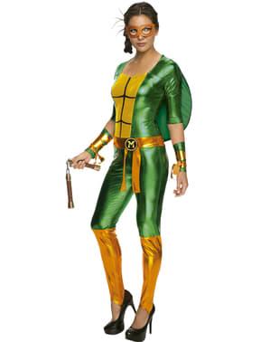Michelangelo Kostüm für Damen sexy Ninja Turtles