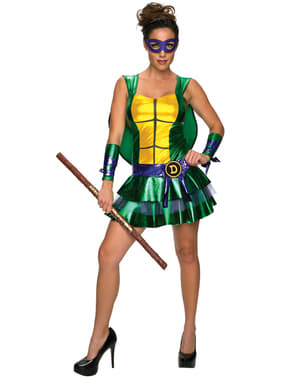 Дамски костюм за костенурките Нинджа