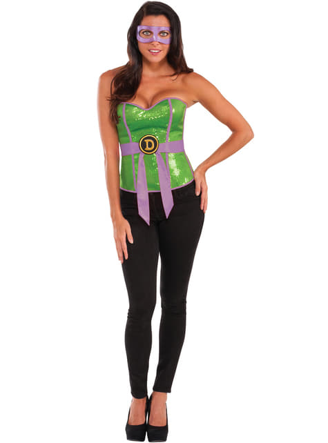 Corsé de Donatello Las Tortugas Ninja para mujer