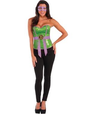 Teenage Mutant Ninja Turtles Donatello korset til kvinder