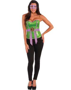 Womens Donatello Teenage Mutant Ninja Turtles corset