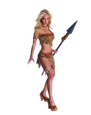 Fato de Jane sexy Tarzan para mulher