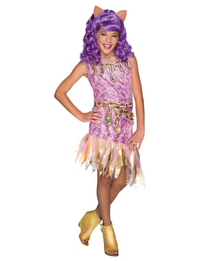 Clawdeen Wolf Kostüm für Mädchen Monster High