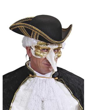 Masker gedecoreerde neus voor mannen