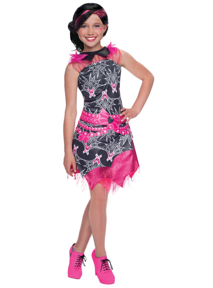Disfraz de Draculaura Monster High classic para niña | Funidelia