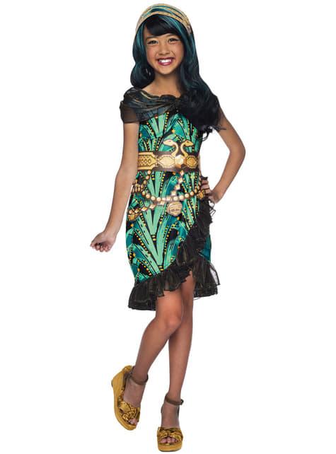Cleo de Nile Monster High Klassisk Kostyme Jente