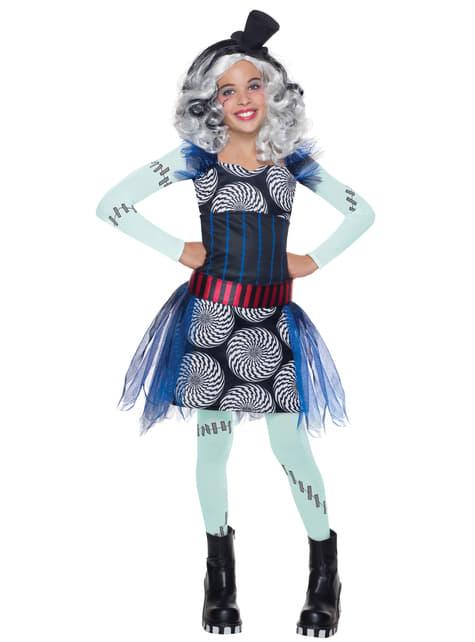 Frankie Stein Monster High costume for a girl