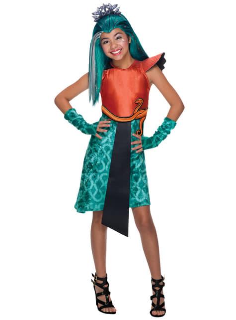 Disfraz de Nefera de Nile Monster High classic para niña