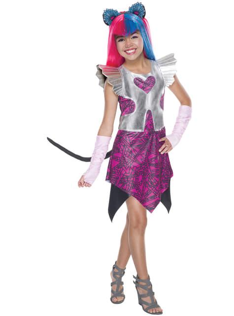 Dívčí kostým Catty Noir Moster High klasický