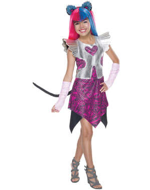 Disfraz de Catty Noir Monster High  para niña