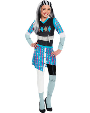 Costum Frankie Stein Monster High Romance pentru fată