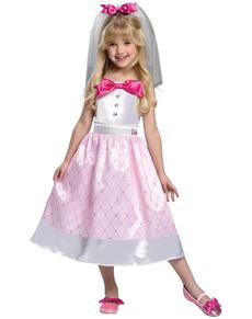 Disfraz de Barbie Novia para niña aef0664a9650