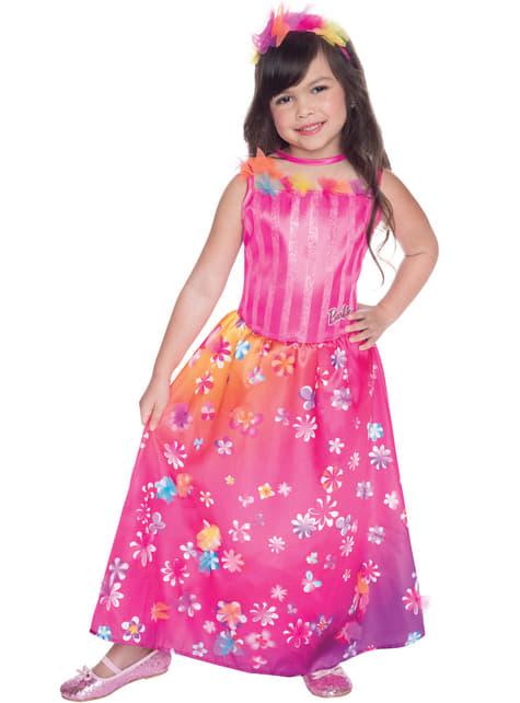 Alexa Barbie Secret Door Kostuum voor meisjes