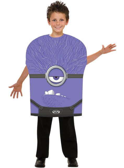 Disfraz de Minion malvado Gru mi villano favorito para niño