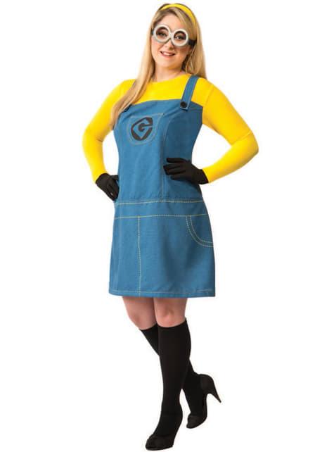 Womens Plus Size Minion Despicable Costume