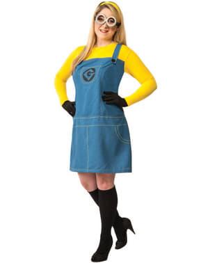 Minion Grusomme Meg plus size kostyme Dame