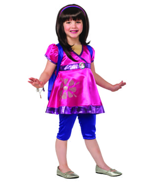Costum Dora și prietenii săi deluxe pentru fată