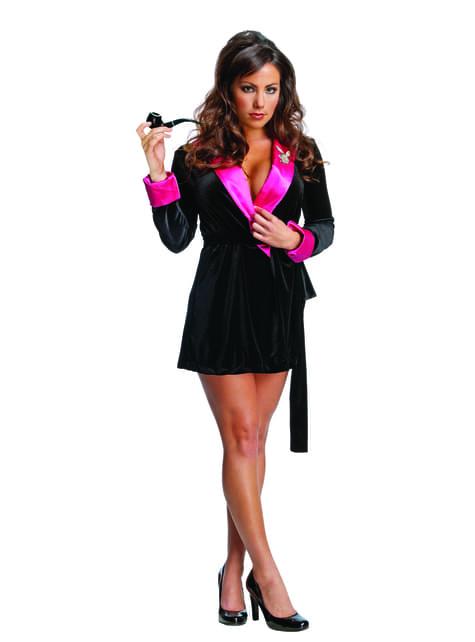 Playboy bathrobe for a woman