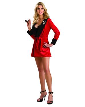 Dámský kostým dívka z Playboye červený