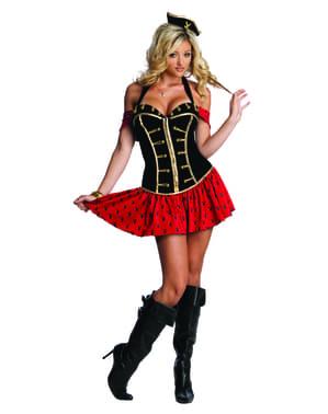 Piraat Playboy Kostuum voor vrouw