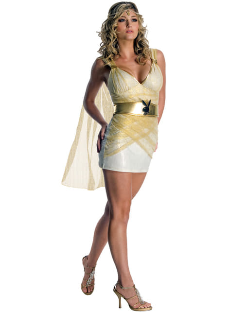 Playboy goddess costume for a woman