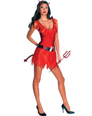 Duivel Playboy Kostuum voor vrouw