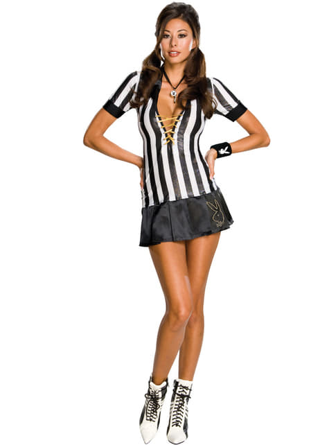 Playboy referee costume for a woman