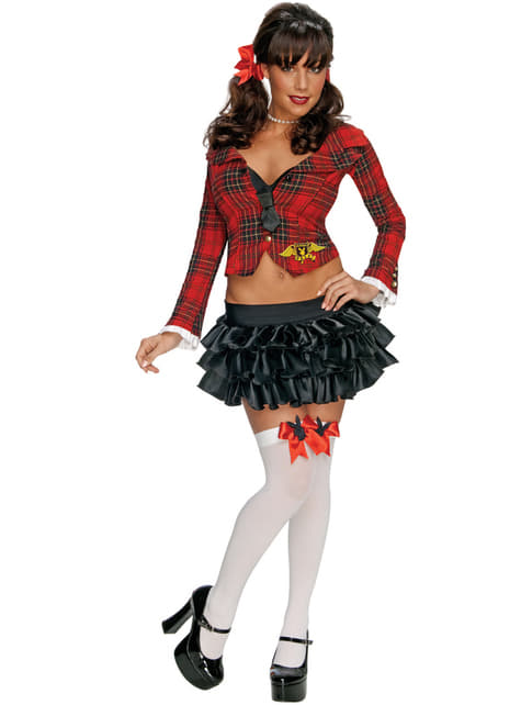 Playboy university student costume for a woman