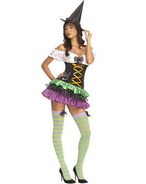 Playboy sexy witch costume for a woman