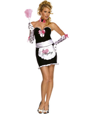 Playboy mansion assistant costume for a woman