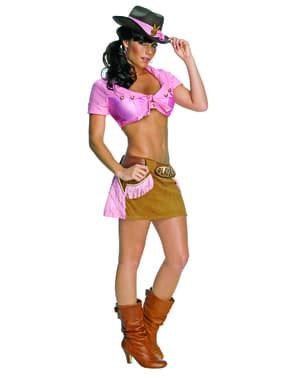 Playboy Sexig cowgirl Maskeraddräkt Vuxen