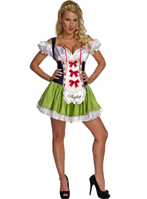 Playboy barmaid costume for a woman