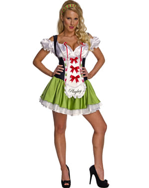 Costum de ospătăriță Playboy pentru femeie