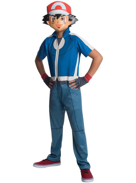 Disfraz de Ash Pokémon para niño
