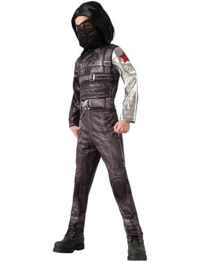Costume da Soldato d'Inverno Captain America The Winter Soldier deluxe bambino