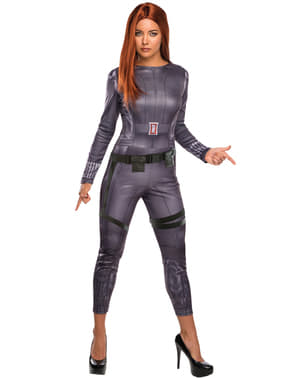 Captain America The Winter Soldier Black Widow costume for a woman