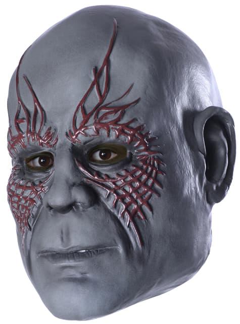 Máscara 3/4 Drax el Destructor Guardianes de la Galaxia para niño