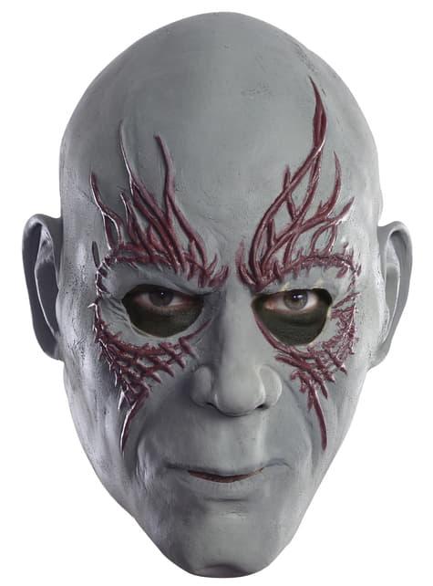 Máscara 3/4 Drax el Destructor Guardianes de la Galaxia para adulto