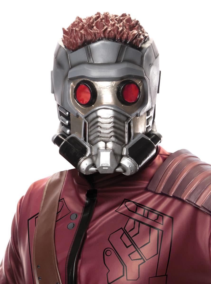Fabuleux Masque 3/4 Star Lord Les Gardiens de la Galaxie adulte pour  OX81