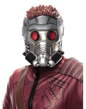 Máscara de 3/4 de Star-Lord dos Guardiões da Galáxia para adulto