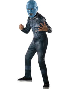 子供のためのアメージングスパイダーマン2エレクトロ衣装