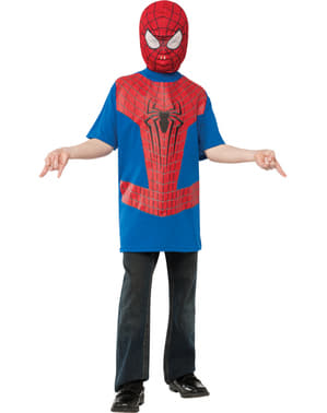 Camisola de Spiderman do filme The Amazing Spiderman 2 para menino