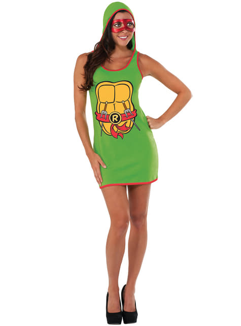 Jurk Raphael The Ninja Turtles voor vrouw